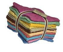 Cotton Konnection Washcloths Extra Soft Ring Spun Cotton,
