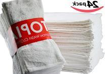 Utopia Towels Washcloths  Pure Cotton Wash Cloth Multi-