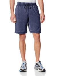 Daniel Buchler Men's Washed Short, Navy, X-Large