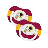 NFL 2-Pack Baby Pacifiers - Washington Redskins