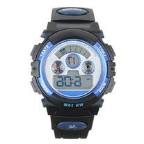 Water Resistant Digital Sports Wrist Watches for Ages 5-15