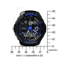 New Unisex Fashion Sport Watch Multifunction Multi-colour