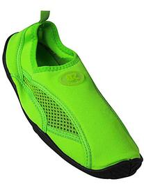 Womens Water Shoe Aqua Sock,6 B US,Green 2909