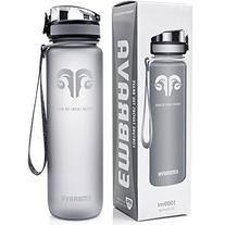 Embrava Best Sports Water Bottle - 32oz Large - Fast Flow,