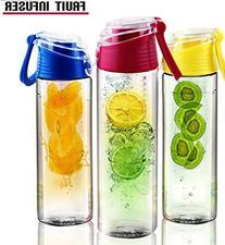 Water Bottle Infuser, Fruit Infuser and Number 1 Sport