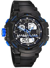 OUANGANC 50m Water-proof Digital-analog Sport Digital Watch