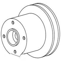 New Water Pump Pulley 737257M1 Fits MF 1745,
