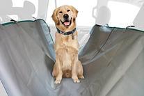 ASPCA Water Resistant Pet Car Seat Cover & Free Travel Bowl