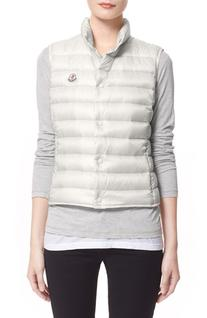 Women's Moncler 'Liane' Water Resistant Short Down Vest,