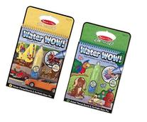 Melissa and Doug Water Wow 2 Pack Bundle: Vehicles and
