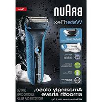 Braun Waterflex Wet and Dry Shaver, Blue