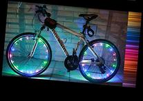 YYGIFT® Waterproof 20 LED Bicycle Wheel Light String Safety