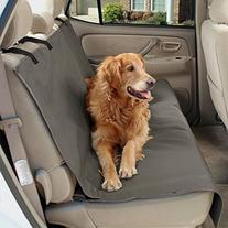 Solvit Waterproof Bench Seat Cover, Medium, Gray