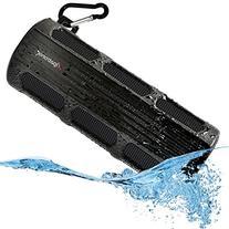 Waterproof Bluetooth Speaker, Alpatronix AX410 3000mAh