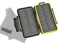 Kupton Water-resistant Memory Card Case Shockproof Memory