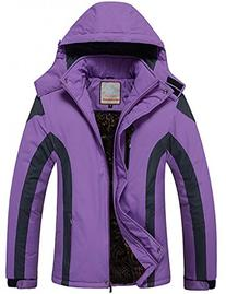 Cloudy Walker Women's Waterproof Mountain Jacket Fleece