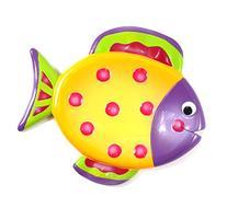 Waterworld Multi Color Fish Resin Soap Dish
