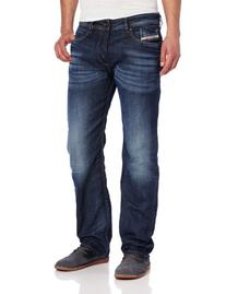 Diesel Men's Waykee Regular Straight-Leg Jean 0806U, Denim,
