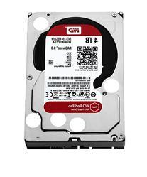 WD Red Pro 4TB NAS Hard Disk Drive - 7200 RPM SATA 6 Gb/s