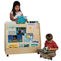 Wood Designs WD34200 Double-Sided Book Display, 29 x 30 x 15