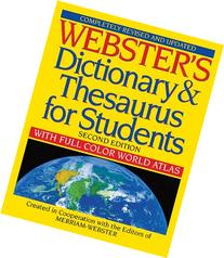 Webster's Dictionary & Thesaurus for Students, Second