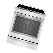 """Whirlpool WEE760H0DH Ice Collection 30"""" White Ice Electric"""