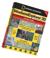 Weekend Explorer 3D - Atlanta Area and Chattahoochee N.F.,
