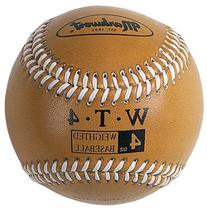 Markwort Weighted 9-Inch Baseballs-Leather Cover , Gold