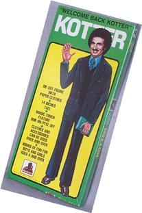 Welcome Back Kotter Die Cut Figure with Paper Clothes -