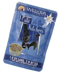 Weruva Cats in the Kitchen 1 if By Land, 2 if By Sea Cat