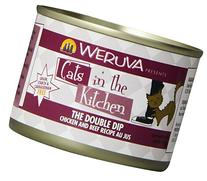 Weruva Cats in the Kitchen, The Double Dip with Chicken &
