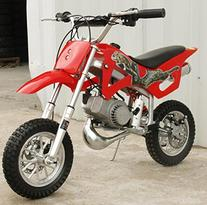 WESTCOASTPAPA KIDS 49CC 2-STROKE MOTOR MINI BIKE DIRT POCKET