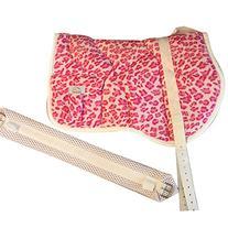 Best Friend Western Style Bareback Saddle Pad, Leopard Print