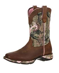 Durango Women's 10'' Lady Rebel Camo Western Casual Boots,