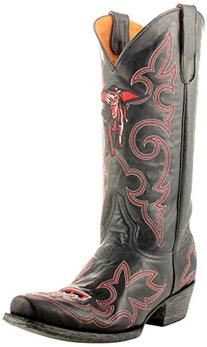 Gameday Boots Mens Western Texas Tech Masked Rider 7 D Black