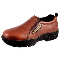 Roper Western Shoes Mens Wide Slip On Brown 09-020-0601-8206