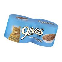 9Lives Wet Cat Food, Ocean Whitefish Dinner, 22 oz