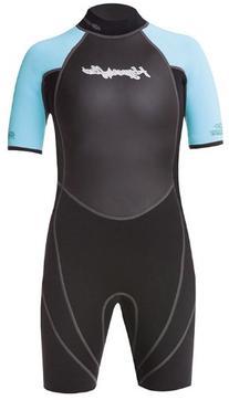 Hyperflex Wetsuits Junior's Access 2.5mm Spring Suit, Black/