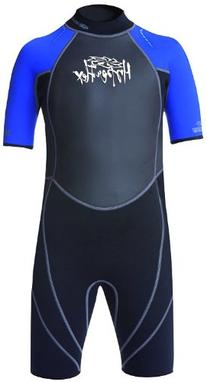 Hyperflex Wetsuits Children's Access 2mm Spring Suit, Black/