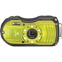 Ricoh WG-4 Lime Yellow 16Digital Camera with 4x Optical