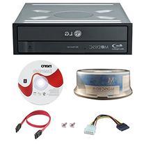 LG WH16NS40 BD Rewriter 16X Speed w/ 15pk Mdisc + Nero 12 +