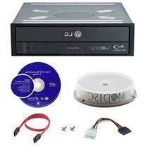 LG WH16NS40 BD Rewriter 16X Speed w/ 10pk Mdisc + 3D