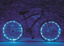 Brightz, Ltd. Blue Wheel Brightz LED Bicycle Accessory Light
