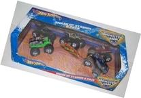 Hot Wheels Monster Jam Smash Up Stadium 5 Pack 1:64 Styles