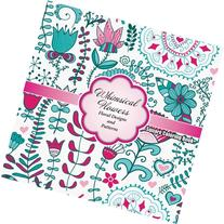 Whimical Flowers Floral Designs and Patterns Square Coloring
