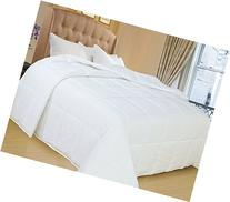Natural Comfort White Down Alternative Comforter with