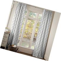 Carousel Designs White and Gray Arrow Drape Panel 64-Inch