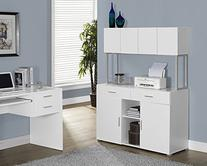 Monarch Specialties White Hollow-Core Office Storage