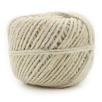 White Jute Twine - 100 Yards - 2mm Diameter - Eco-Friendly
