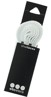 Etcetera White Shoe Laces